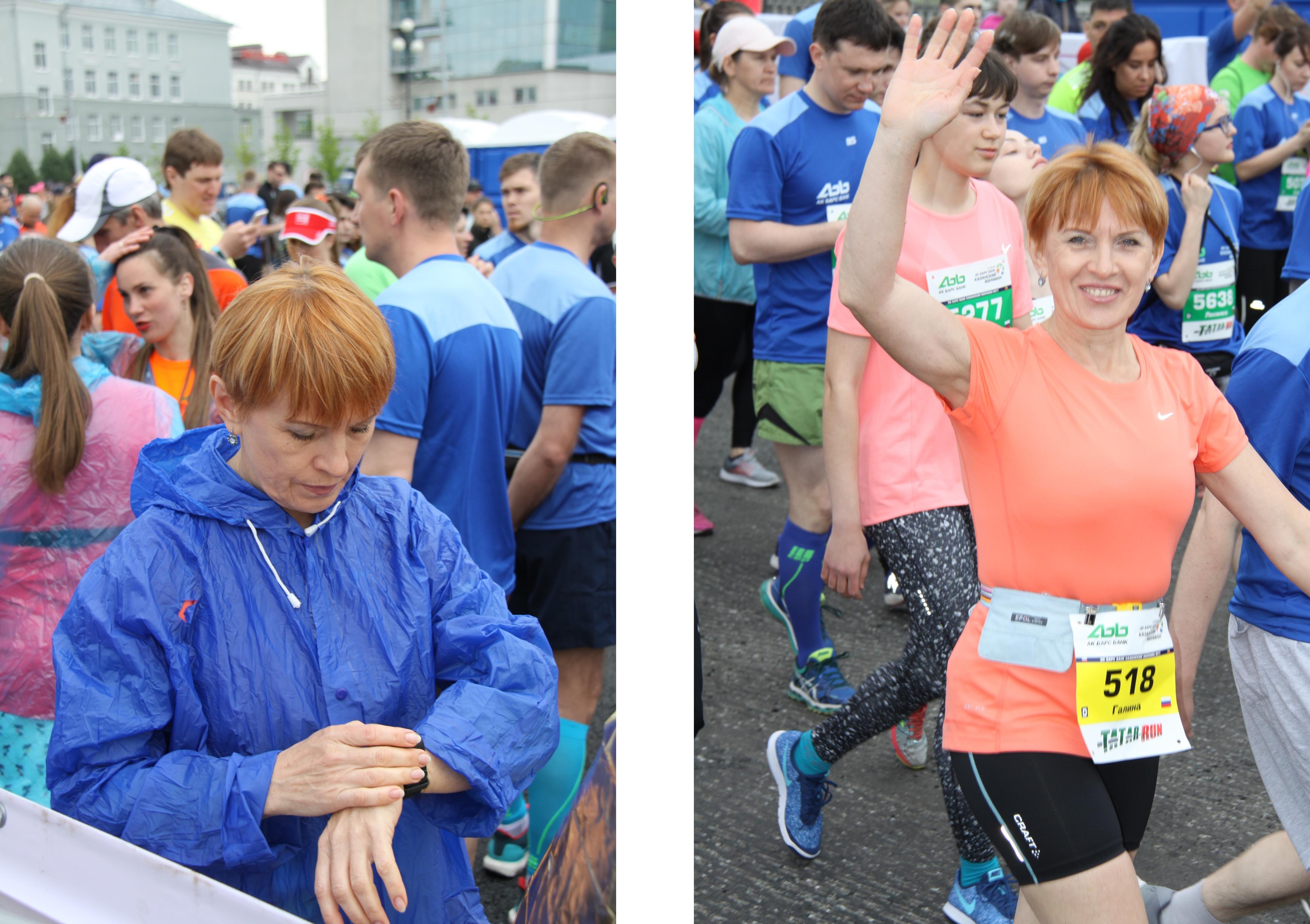 За 5 минут до старта Казанского марафона