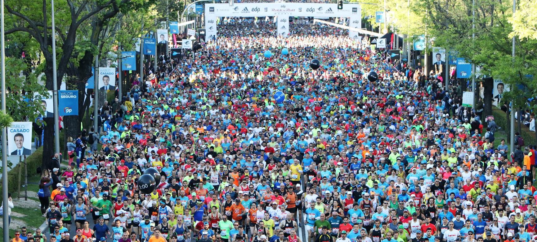Мадридский марафон
